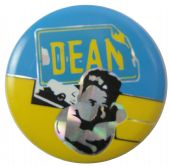 James Dean - 'Name/Head' Prismatic Button Badge